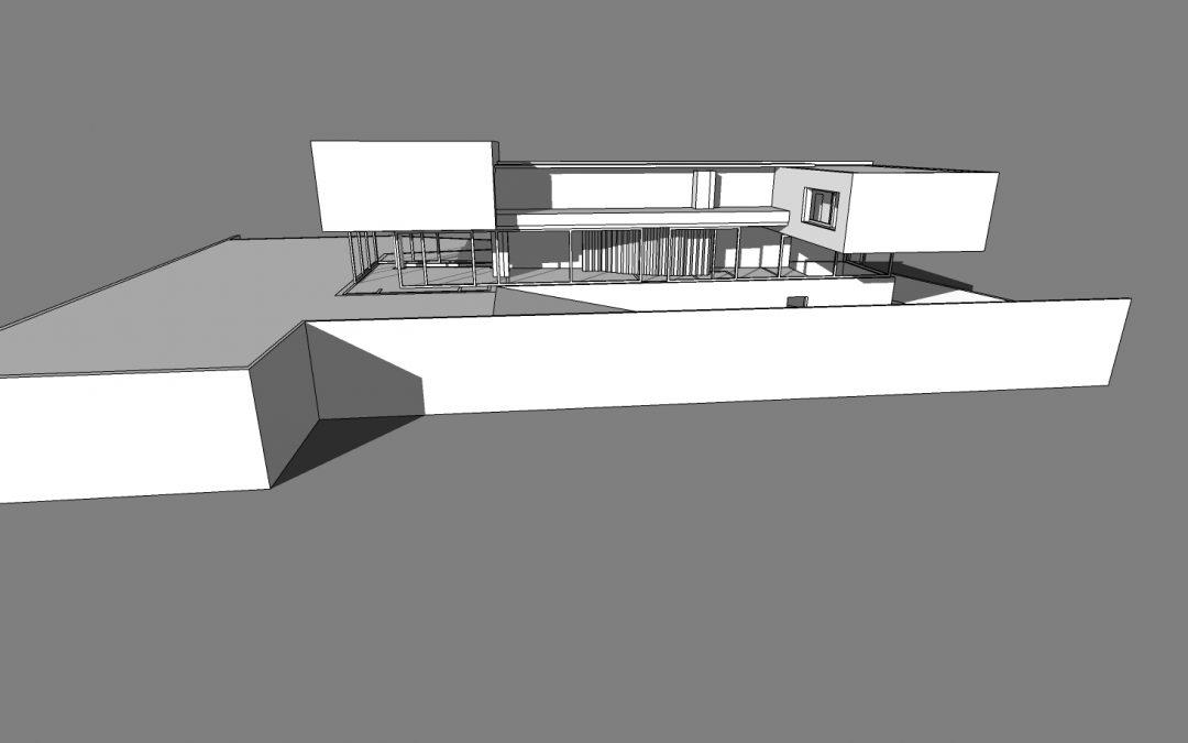 Mẫu thiết kế xây dựng khu nhà văn phòng XN05