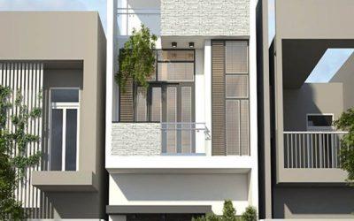 Cách tính chi phí xây dựng nhà 2 tầng diện tích 40m2
